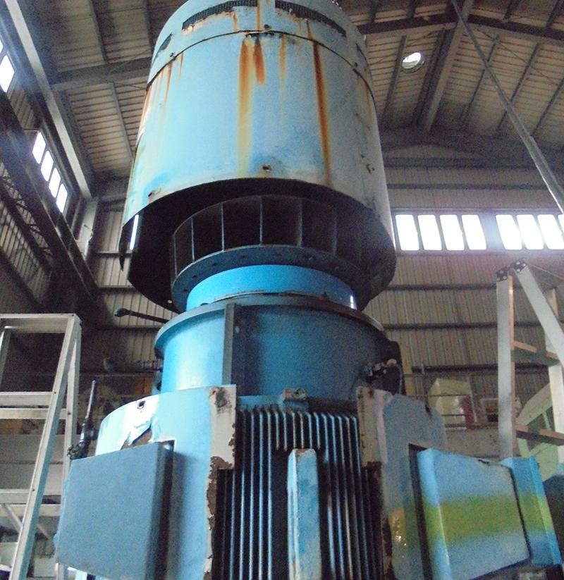 大湳尖山排水站 1200HP泵浦整修